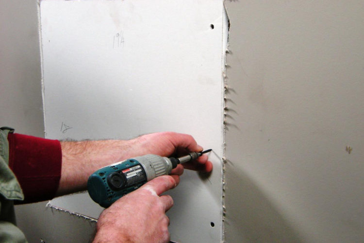 There's no simple solution to patching drywall.
